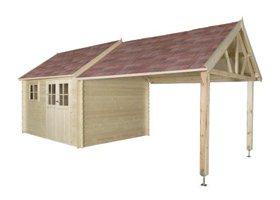 Coventry XL houten tuinhuis